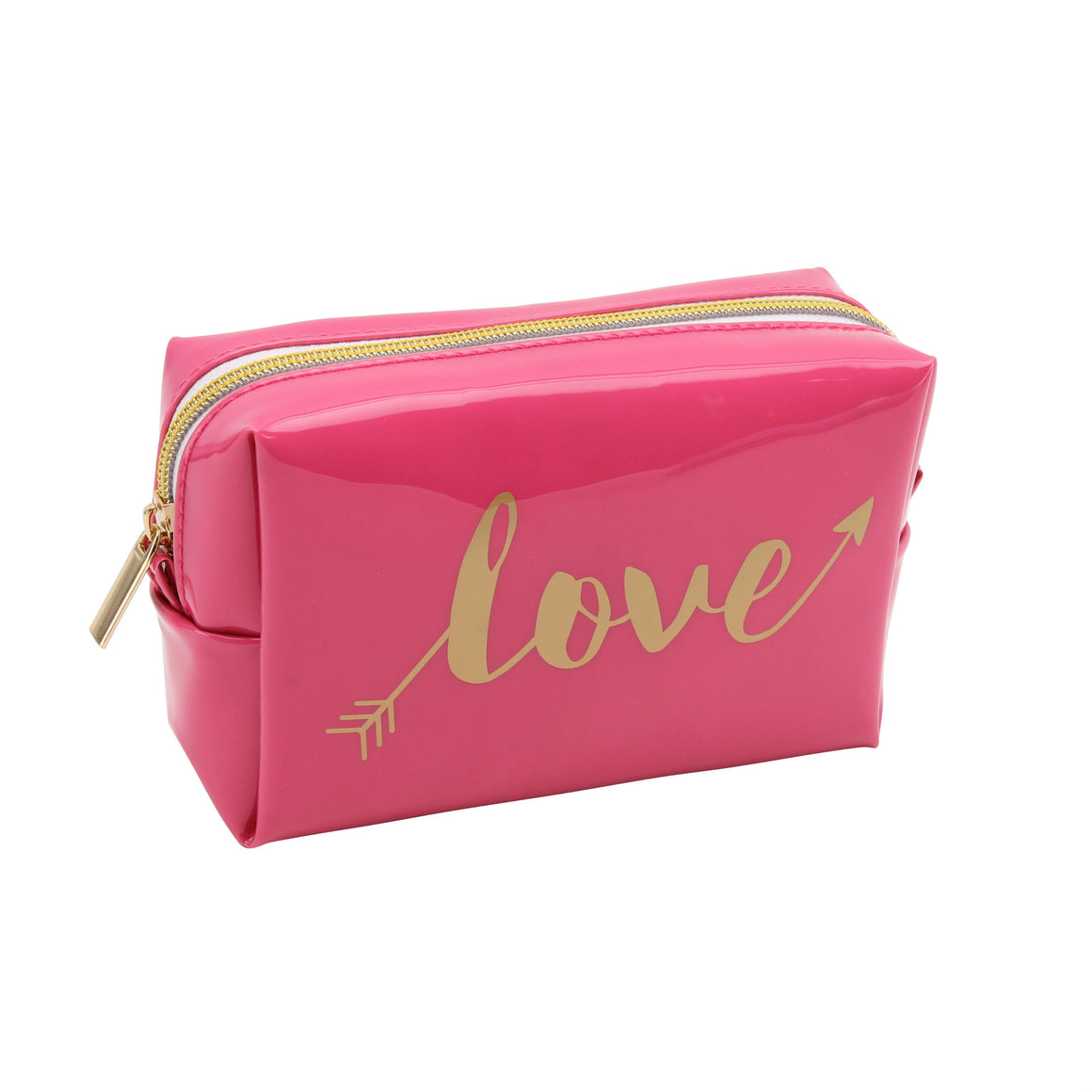 'Love' Arrow Pink Oh So Pretty Make Up Bag - The Love Trees