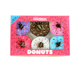 Odd Socks Donuts Ladies Gift Box