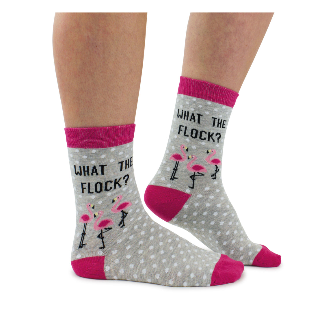Cockney Spaniel What The Flock Ladies Socks - The Love Trees