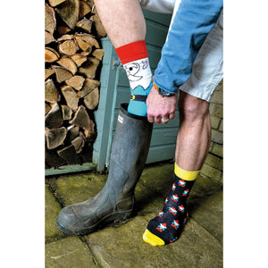 United Odd Socks Fork It Mens Gift Box