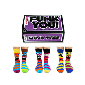 United Odd Socks Funk You Mens Gift Box