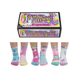 United Odd Socks Fairytale Friends Girls Gift Box - The Love Trees