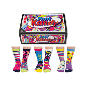United Odd Socks Foot Kandy Ladies Gift Box
