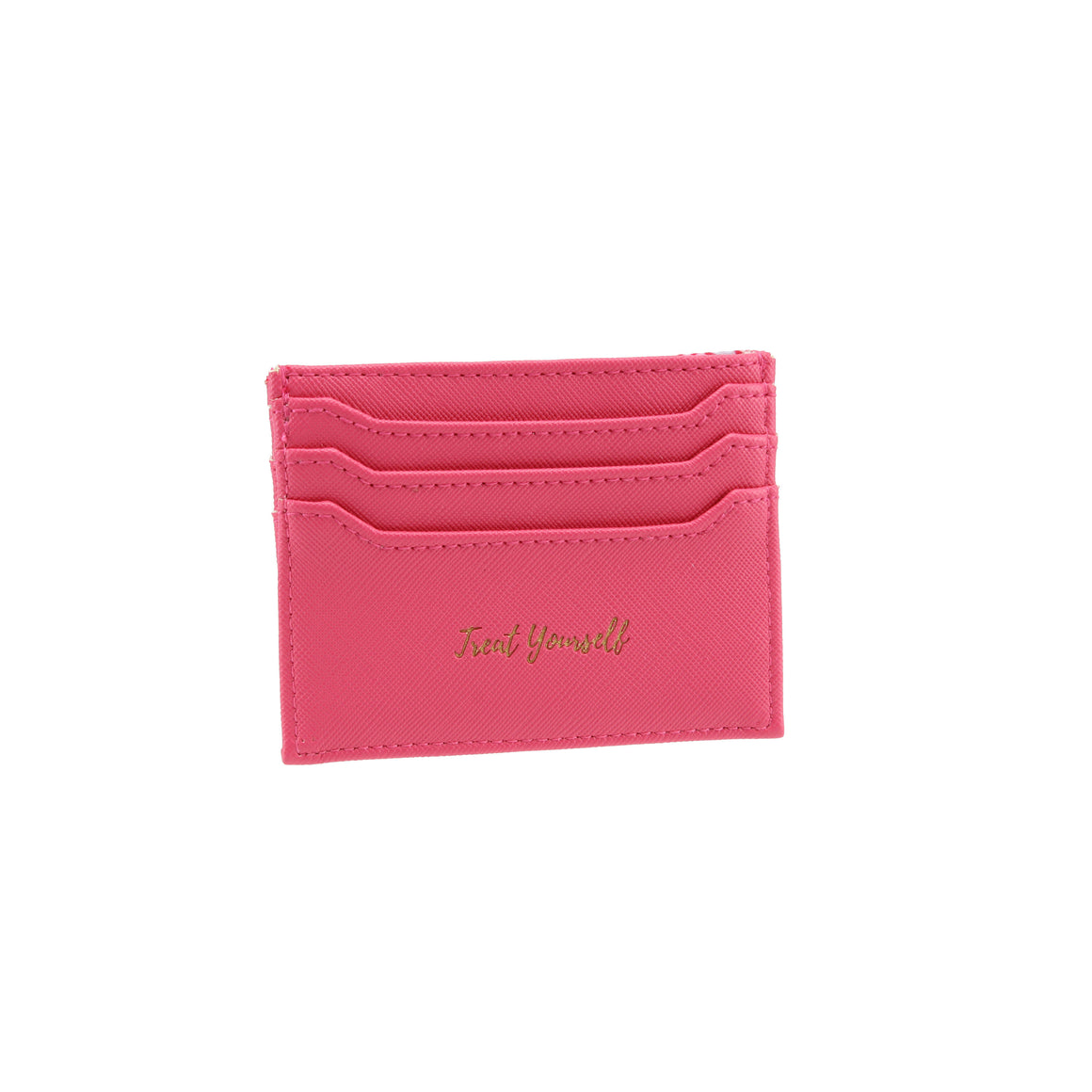 Willow & Rose 'Treat Yourself' Fuschia Card Holder