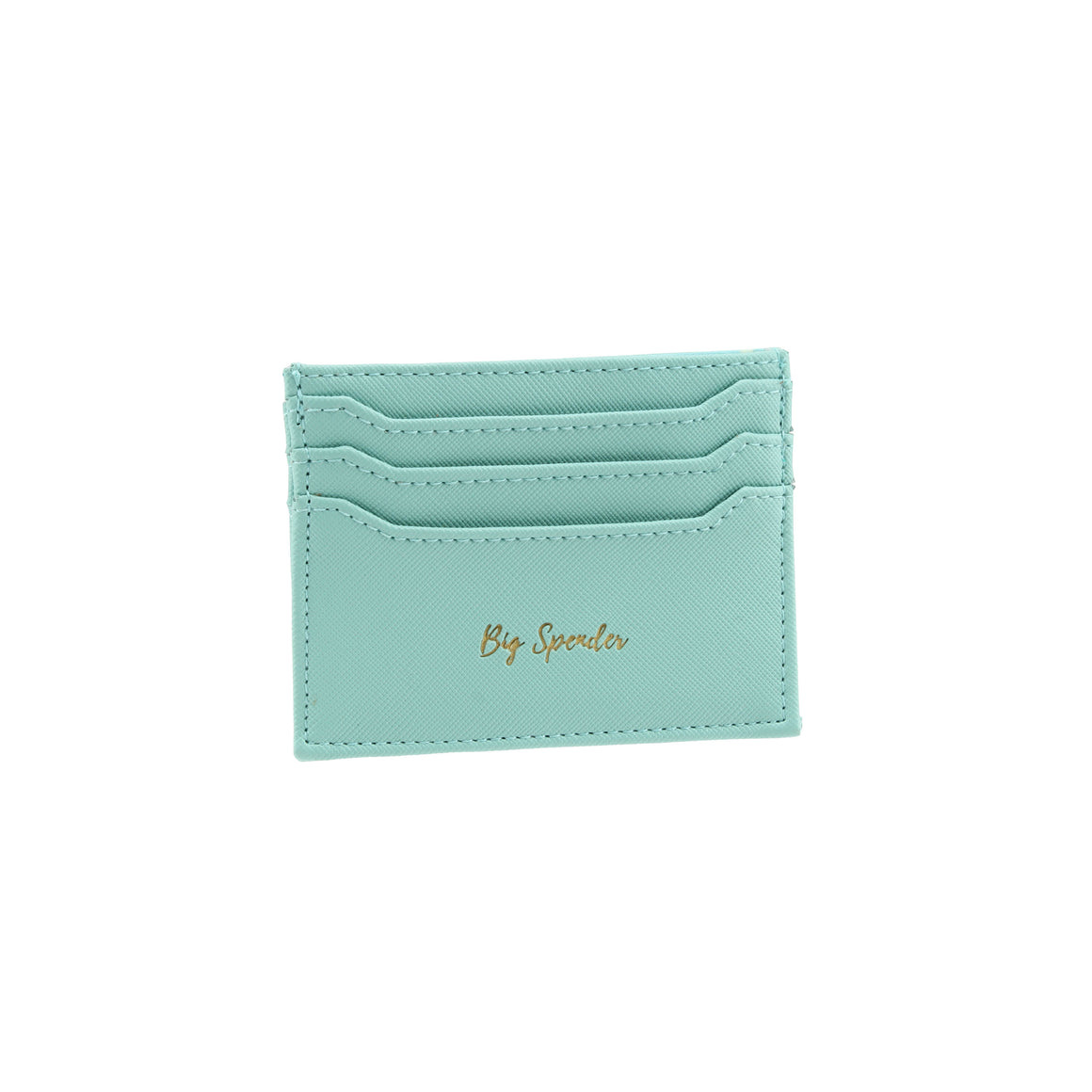 Willow & Rose 'Big Spender' Teal Card Holder