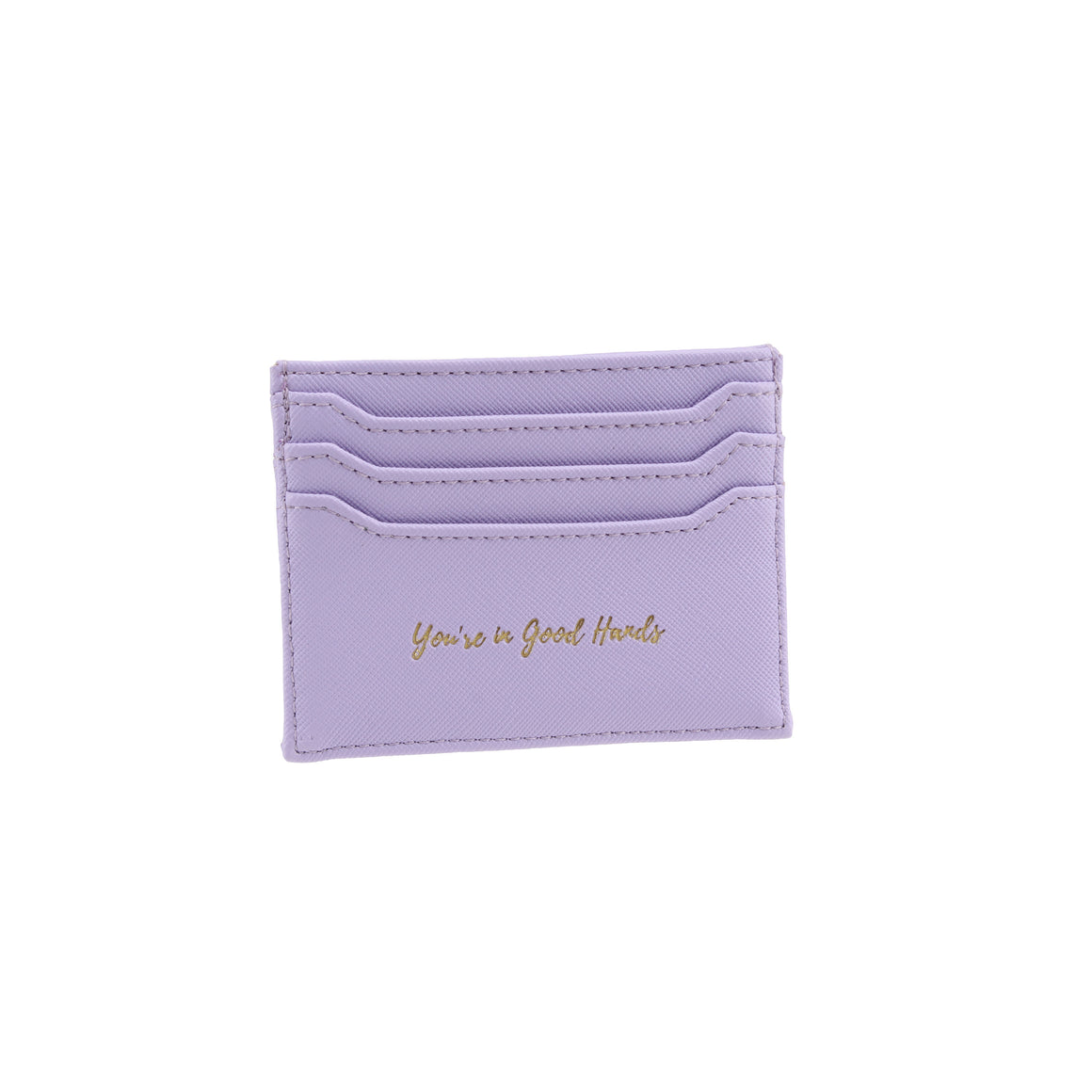 Willow & Rose 'You're In Good Hands' Lilac Card Holder - The Love Trees