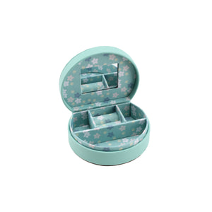 Willow & Rose 'Precious' Teal Jewellery Box - The Love Trees