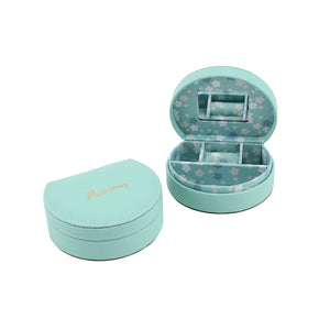 Willow & Rose 'Precious' Teal Jewellery Box