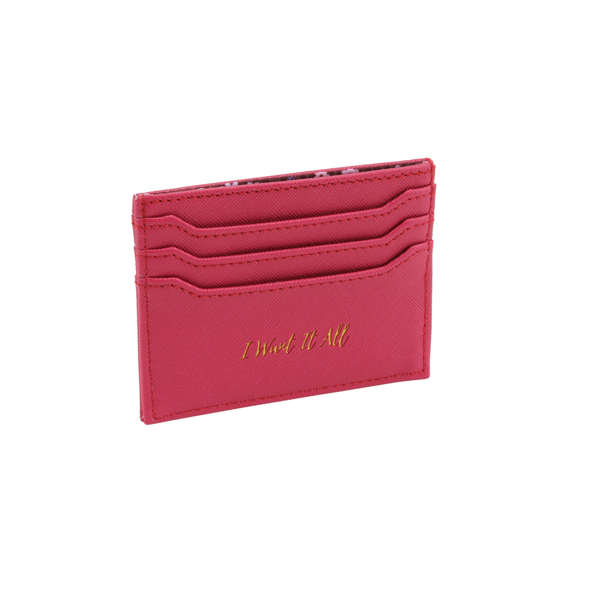 Willow & Rose 'I Want It All' Berry Card Holder