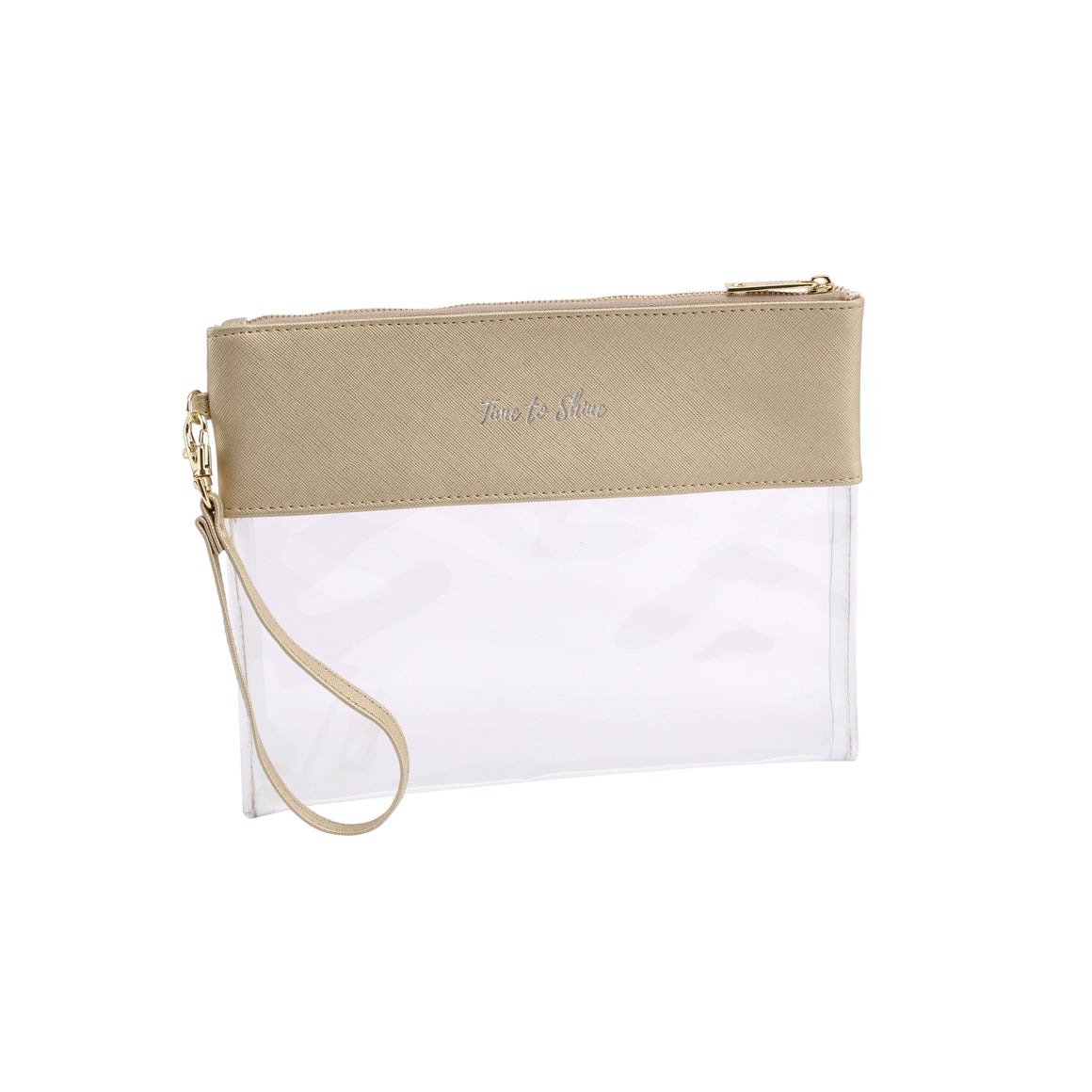 Willow & Rose Gold 'Time To Shine' Travel Pouch