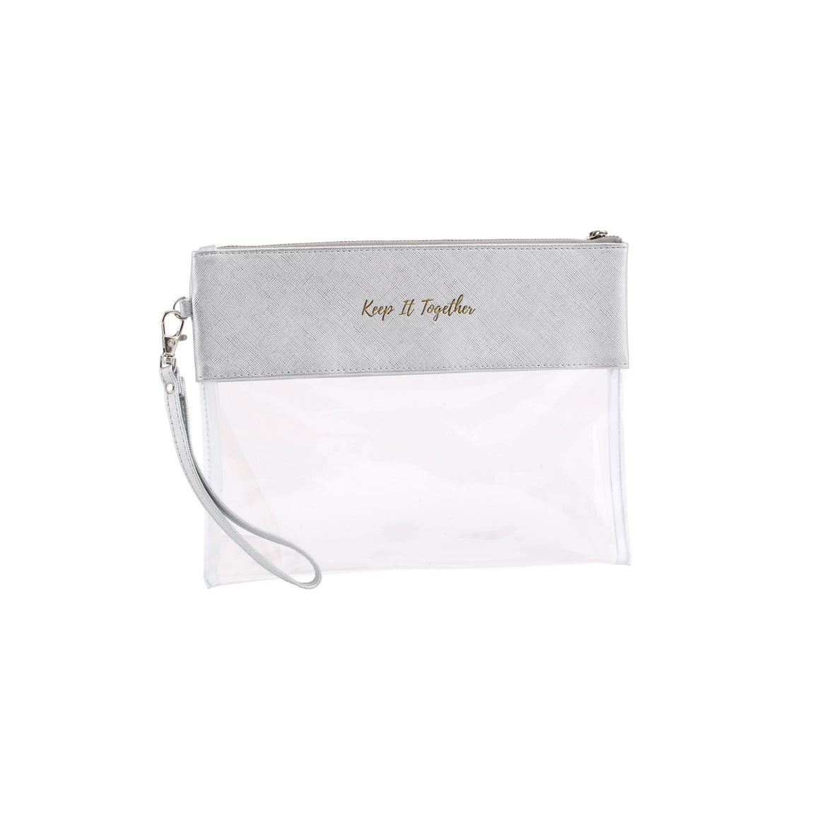Willow & Rose Silver 'Keep It Together' Travel Pouch