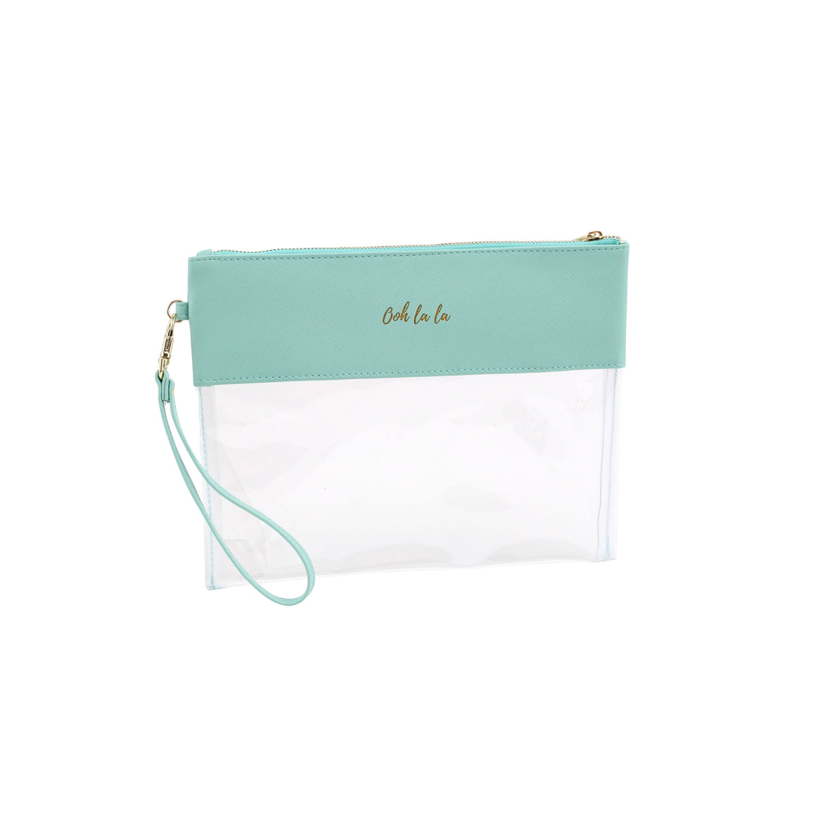 Willow & Rose Teal 'Ooh La La' Travel Pouch