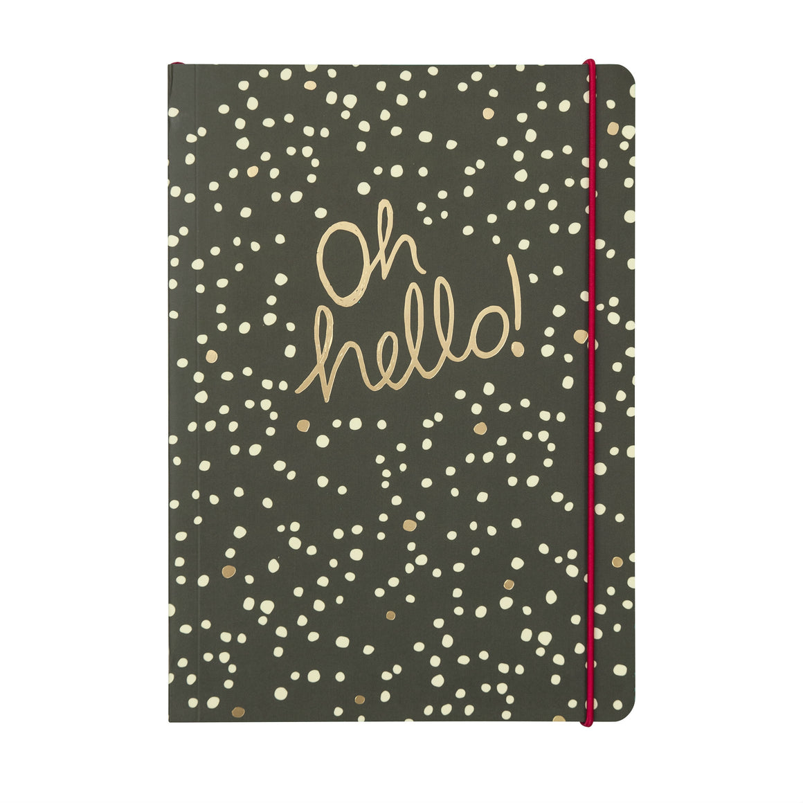 'Oh Hello!' B5 Notebook - The Love Trees
