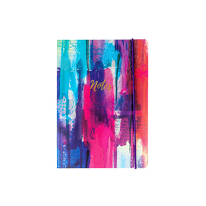 Inky Splash A5 Notebook - The Love Trees