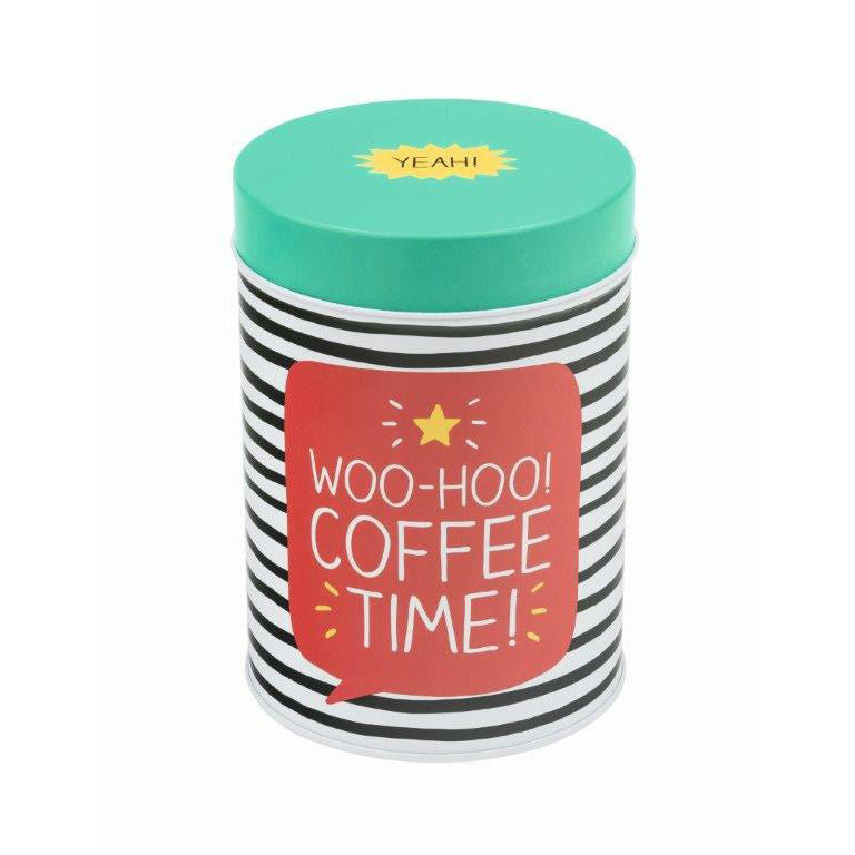 Happy Jackson Round Coffee Caddy - The Love Trees