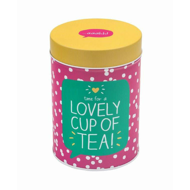 Happy Jackson Round Tea Caddy - The Love Trees
