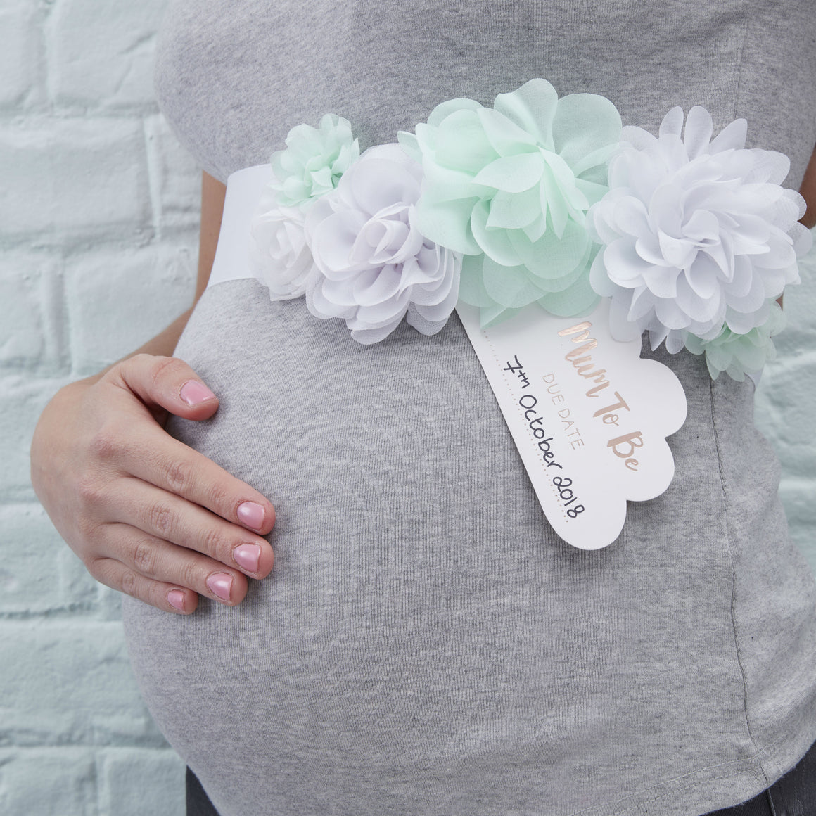 Mum To Be Sash - Hello World - The Love Trees