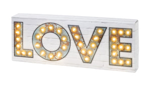 Party Illuminations Light Up Love Sign