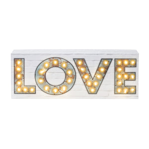 Party Illuminations Light Up Love Sign - The Love Trees