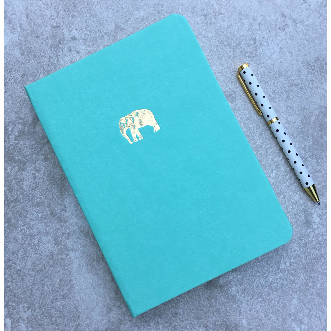 Sky + Miller Elephant A5 Faux Leather Notebook