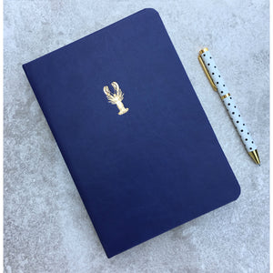 Sky + Miller Lobster A5 Faux Leather Notebook