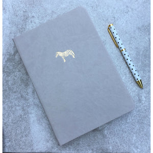 Sky + Miller Zebra A5 Faux Leather Notebook