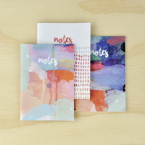 KaiserCraft ARTIST Medium Notebooks 3 Pack - The Love Trees