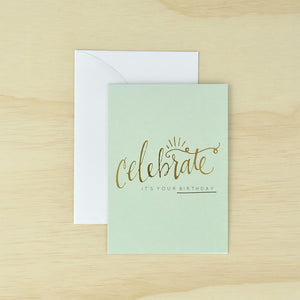 KaiserStyle Celebrate It's Your Birthday Greetings Card - The Love Trees