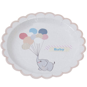 Baby Paper Plates - Little One - The Love Trees