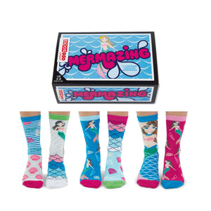 United Odd Socks Mermazing Ladies Gift Box