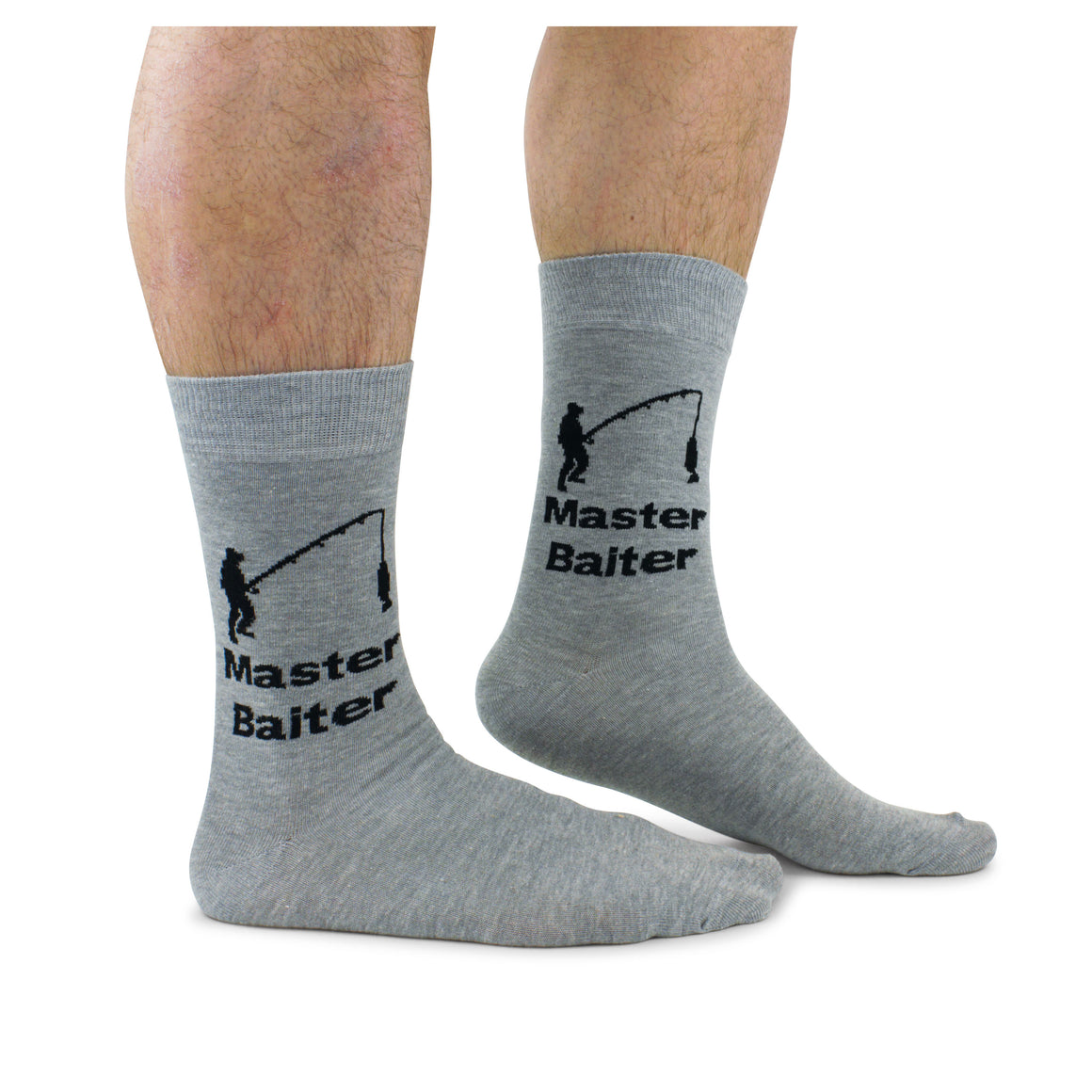 Cockney Spaniel Master Baiter Men's Socks - The Love Trees