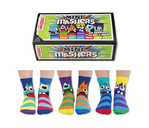 United Odd Socks Mini Mashers Boys Gift Box