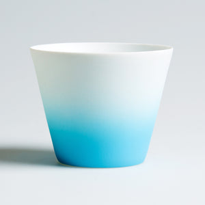 Ombre Tea Light Holder Blue - The Love Trees