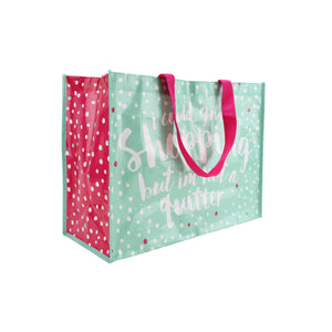 'I Could Give Up Shopping But I'm Not A Quitter' Shopping Bag - The Love Trees