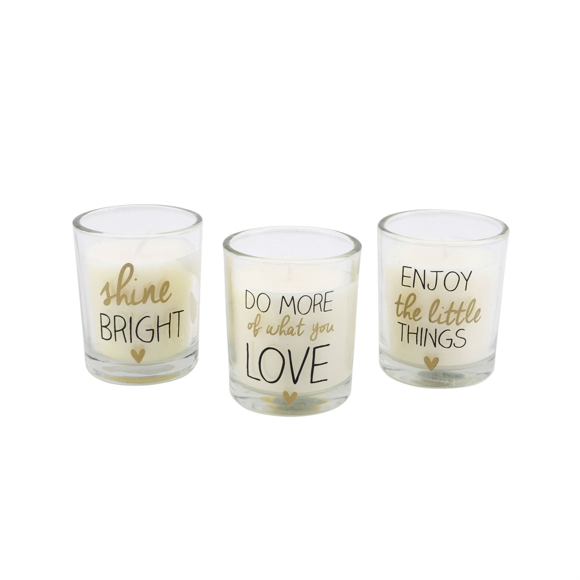 Set of 3 Ab Fab Scented Candles - The Love Trees