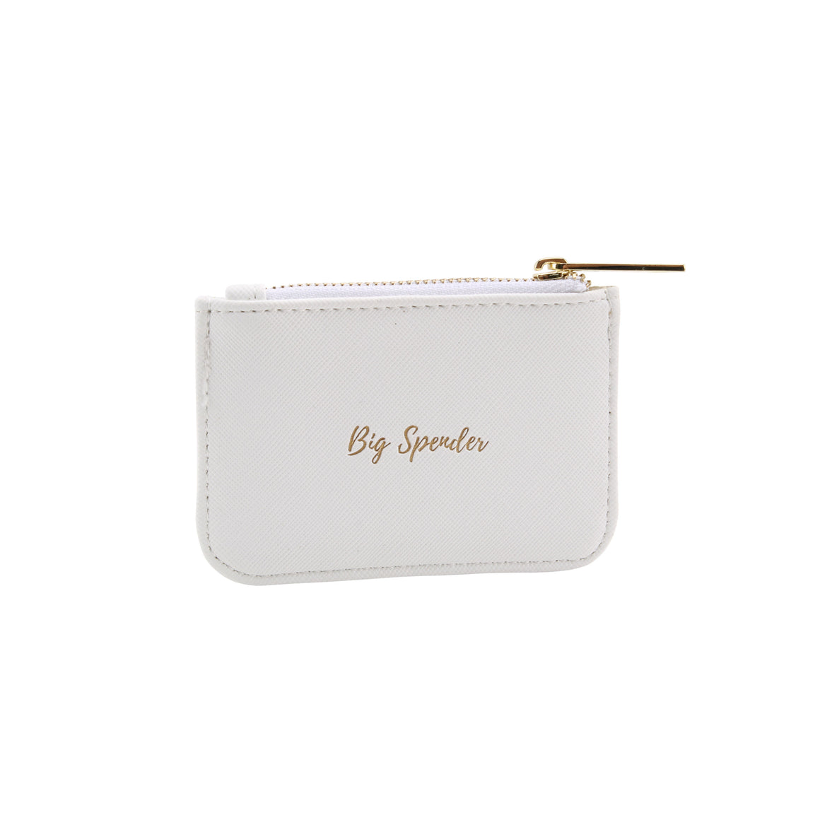Willow & Rose 'Big Spender' White Coin Purse