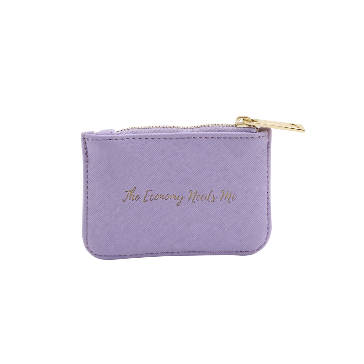 Willow & Rose 'The Economy Needs Me' Lilac Coin Purse