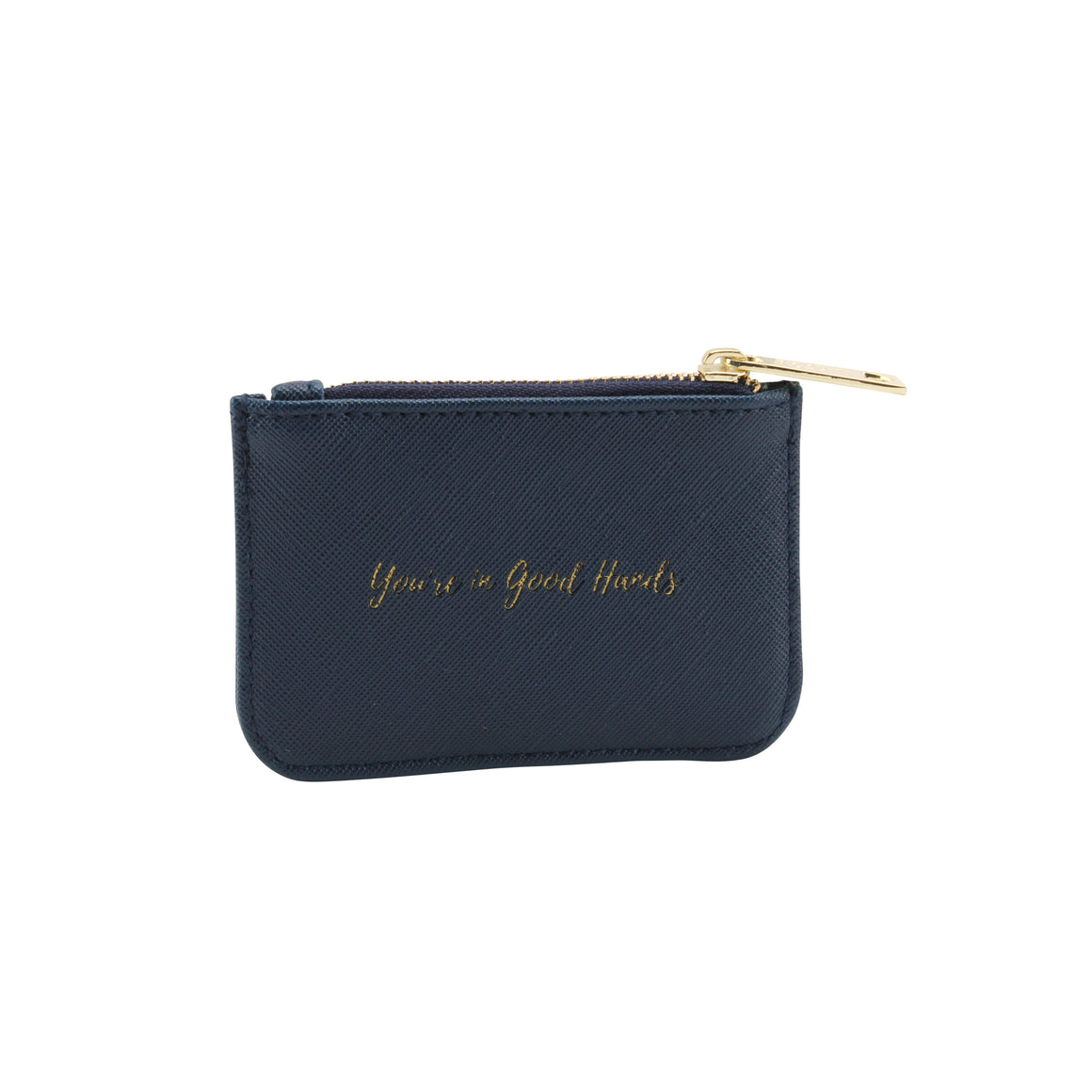 Willow & Rose 'You're In Good Hands' Navy Coin Purse - The Love Trees