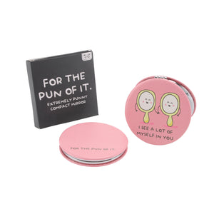 'I See A Lot Of Myself In You' Compact Mirror - The Love Trees