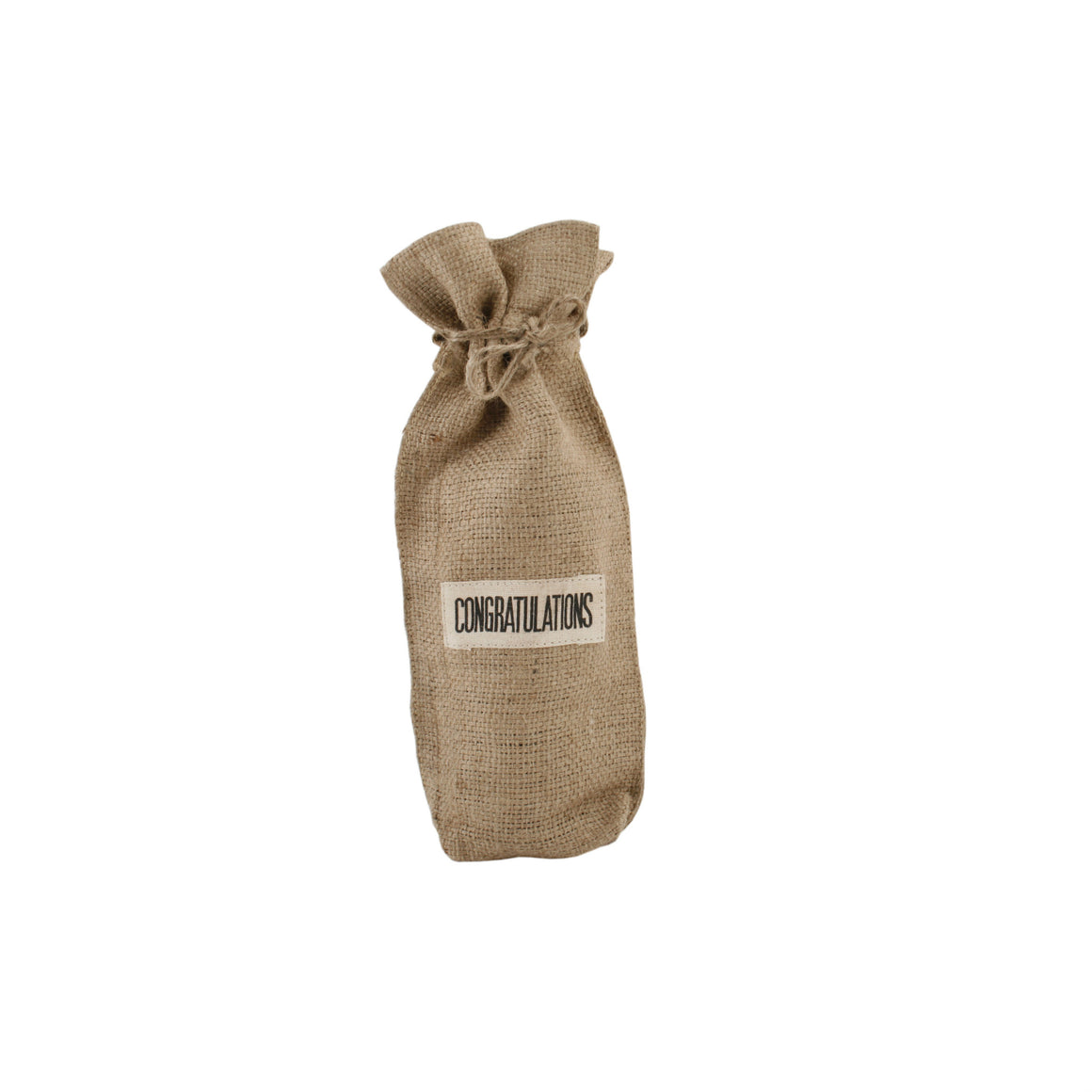 Jute Wine Bottle Bag - The Love Trees