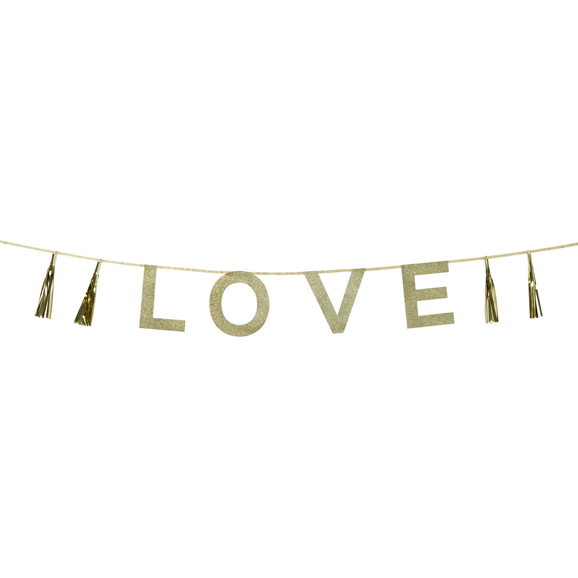 Say It With Glitter 'Love' Banner