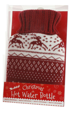 Christmas Hot Water Bottle - The Love Trees