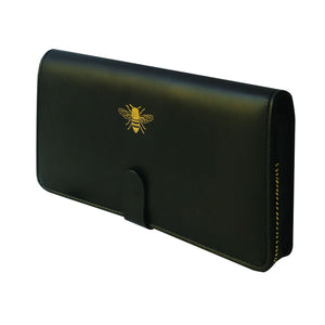 Sky + Miller Black Travel Wallet