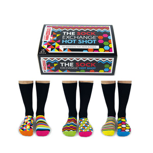 United Odd Socks The Sock Exchange Hot Shot Mens Gift Box - The Love Trees