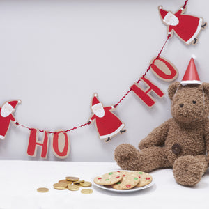 Ho Ho Ho Christmas Santa Bunting - The Love Trees