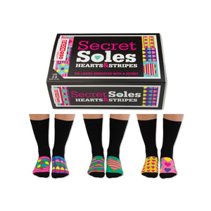United Odd Socks Secret Soles Ladies Gift Box