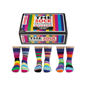 United Odd Socks The Sock Exchange Weekend Mens Gift Box