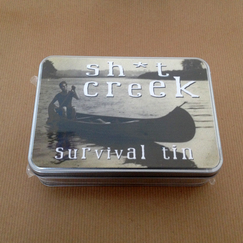 'Sh*t Creek' Small Survival Tin - The Love Trees