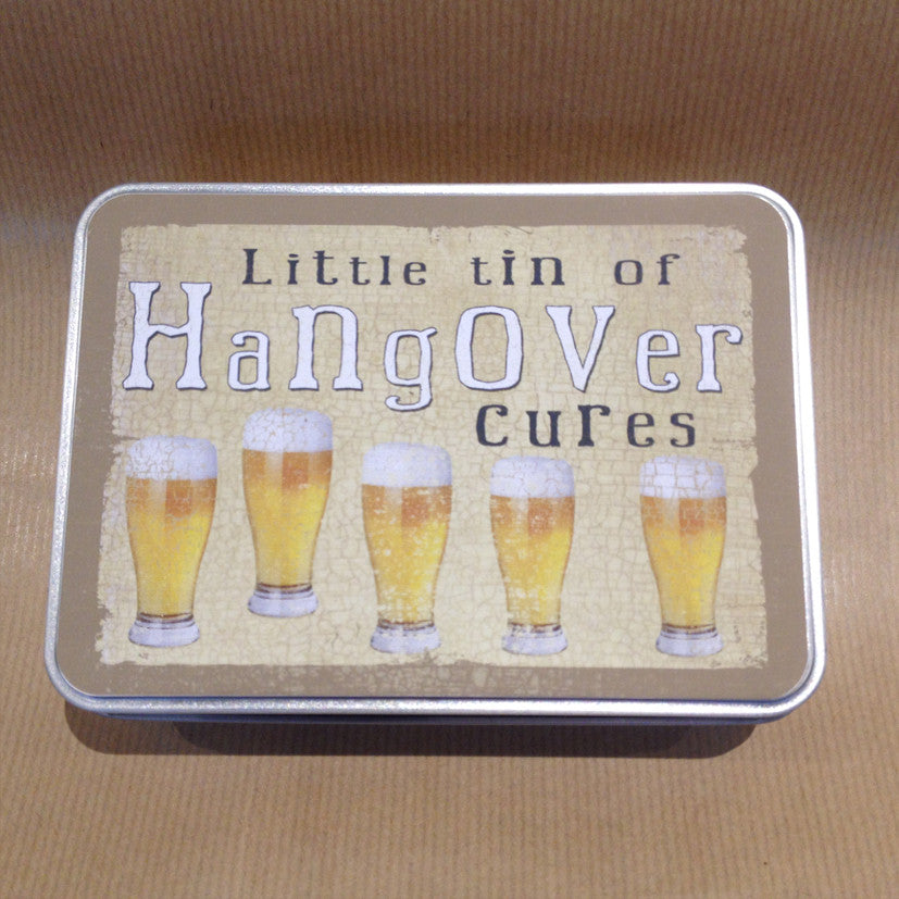 'Hangover Cures' Small Tin - The Love Trees