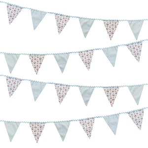 Truly Scrumptious Fabric Bunting - The Love Trees